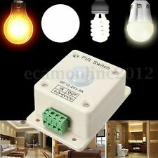 8A Infrarouge Détecteur de Mouvement Auto PIR Capteur Interrupteur Pr LED Lampe