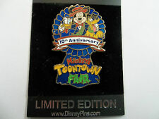 Disney 2006 Mickey's Toontown Fair 10th Anniversary Donald, Pluto Pin LE of 1500