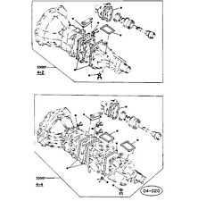 ISUZU PIAZZA Turbo Impulso// jr-120/Furgone Pick-Up/4zc1-t KIT GUARNIZIONE CAMBIO MANUALE