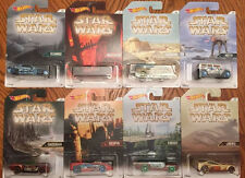 Hot Wheels STARWARS Set of 8