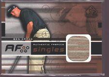 BEN CRANE 2003 SP GAME USED PGA GOLF SHIRT JERSEY PATCH $8
