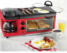 Breakfast Station Oven Toaster Kitchen Coffee Maker Retro Dorm Machine Bake
