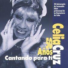 Celia Cruz: 50 Anos Cantando Para Ti, Cruz, Celia, Very Good Import