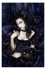 Victoria Frances Poster Gothic Girl Laminated Supernatural Witches Vampire NEW 1