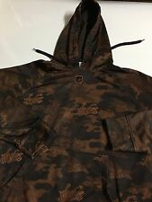And1 And 1 Camouflage Men's L Large Hoodie Sweater Sweatshirt Pullover