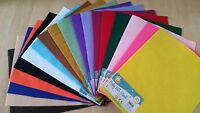 Craft planet felt, Funky felt, A4 sheet - **BUY2GET1FREE** - mixed colours