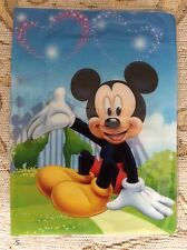 Disney Mickey Minnie Passport Identity Travel ID Cover Holder Holiday Cute Gift