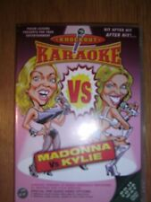 "DVD NEUF ""KARAOKE KNOCKOUT - MADONNA vs KYLIE MINOGUE"""