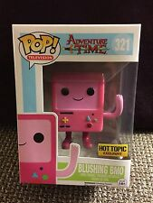FUNKO POP ADVENTURE TIME BLUSHING BMO #321 HOT TOPIC EXCLUSIVE IN STOCK R2S