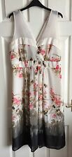 Next Tall Classy Floral Dress Size 16L occasional wedding Party NEW TAGS