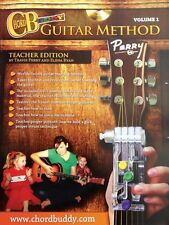 ChordBuddy Guitar Method Vol1 - Teacher Book + DVD Only - Chord Buddy  000123872