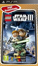 PSP Juego Lego Star Wars 3 III The Clone Wars para Sony PlayStation Portable nuevo