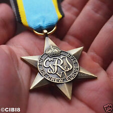 THE AIR CREW EUROPE STAR MEDAL WW2 BRITISH MILITARY MEDAL ROYAL AIR FORCE COPY.