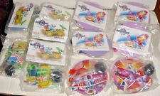 Lot of 12 YOUNG ASTRONAUTS 1991 McD McDonalds happy meal Toys Dish & Rover MIP