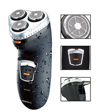 New 1Pcs RSCX-5085 3 Heads Waterproof Washable Rechargeable Men's Rotary Shaver