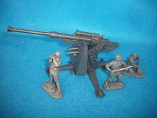 Classic Toy Soldiers WWII German 88MM anti - tank/aircraft gun w/ 3 man crew