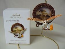 Hallmark Ornament 2010 LEGEND OF THE GUARDIANS NEW The Owls of Gahoole Barn