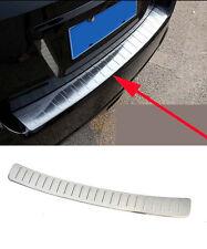 Rear Door Sill Protector Outside Bumper for 2012-2016 Subaru XV Steel