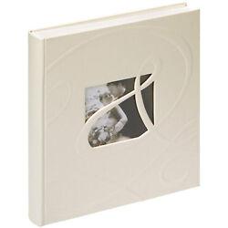 Ti Amo Fotoalbum in Grau 29x32 cm 60 weiße Seiten Hochzeit Foto Album Jumbo