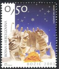 Bosnia 2003 Christmas/Greetings/Crib Figures/Nativity 1v (n44354)