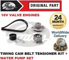 Per ALFA ROMEO 159 1.9 JTDM 2005-2010 GATES CAM TIMING BELT KIT + POMPA ACQUA impostata