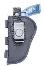 "Nylon OWB Belt Gun Holster 3"" Barrel Revolvers, Ruger SP101"