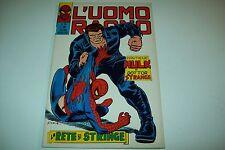 L'UOMO RAGNO-N. 74-EDITORIALE CORNO-LA RETE SI STRINGE-15 FEBBRAIO 1973-BS!