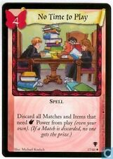 Harry Potter TCG Quidditch Cup No Time To Play 17/80 x2