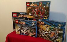LEGO Super Heroes Batman Bundle (6860), (6857), (6864), (6863), new, retired