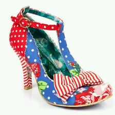 Irregular Choice Shoes Bloxy Red&Blue size 37 ~ UK 4 BNIB ☆SALE☆