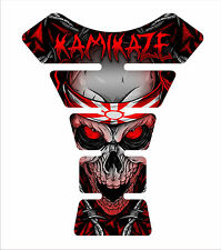 Kawasaki Ninja ZX Z1000 636 3d Gel Motorcycle Red K tank pad tankpad Decal