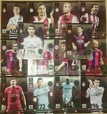 SET 14 CARDS LIMITED EDITION MESSI ADRENALYN XL CHAMPIONS LEAGUE 14-15 UPDATE