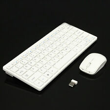 Ultra Thin 2.4GHz Wireless Keyboard Cover and Mouse Kit for Laptop PC Mac Win7 8