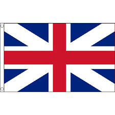 Kings Colours Flag 5Ft X 3Ft Union Jack Uk British Banner With 2 Eyelets New