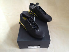Porsche Design Adidas M Bounce S4 Trainers Black Yellow Size UK 9 NEW *LOOK*