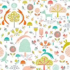 Dashwood Studio Fablewood Cotton Fabric.By The Fat Quarter