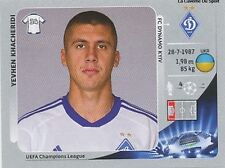 N°036 KHACHERIBI # UKRAINE DYNAMO KYIV CHAMPIONS LEAGUE 2013 STICKER PANINI