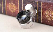 20X Adjustable Pocket LED Illuminated Cloth Magnifier Magnifying Glass Loupe