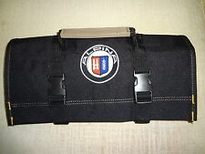 "BMW ALPINA Logo/NEW ALL BLACK"" !!!! Tool Roll"