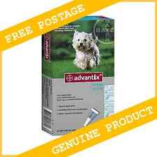 6 Pack Bayer Advantix K9 For Medium Dogs 4-10kg Exp. 02/2019      FREE POSTAGE