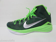 Nike Size 11 M Hyperdunk Green Hightops Sneakers New Mens Shoes