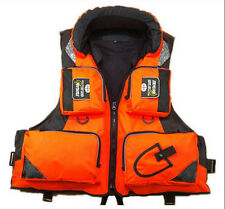 Orange XL Hoody Buoyancy Aid Sailing Kayak Boating Fishing Life Jackets Vest Hot