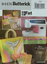 Butterick 4476 Fat Quarters SEWING ROOM ACCESSORIES Craft PATTERN *NEW* OOP
