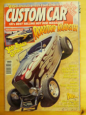 CUSTOM CAR MAGAZINE AUGUST 2001 HOT ROD  VEHICLE MAG DRAGSTER BACK ISSUE