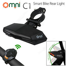Omni C1 Smart Bike LED Light Wireless Remote Tail light Water Resistant Outdoor