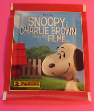2015 SNOOPY E CHARLIE BROWN PEANUTS O FILME PANINI COLLECTOR STICKERS PACK