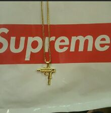 18k Gold Supreme Uzi Chain