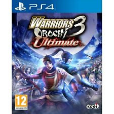 Warriors Orochi 3 Ultimate PS4 Game Brand New