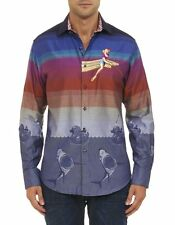"Mens Robert Graham Limited Edition ""SHEEN"" L/S -NWT $398 -Size XL"