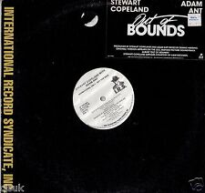 """STEWART COPELAND with ADAM ANT Out of Bounds Vinyl 12"""" Promotional Copy"""